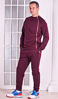 Спортивный костюм мужской Stylish fashion цвет марсала размер 48-54