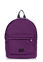 Рюкзак стеганый POOLPARTY, backpack-theone-violet