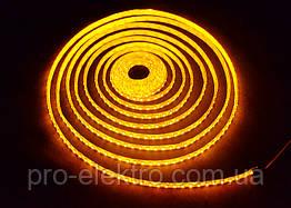 """Світлодіодна стрічка smd3528 """"Стандарт"""" подвійна щільність MTK-600Y3528-12 9,6 W IP20 №1 Жовтий 1012109"""