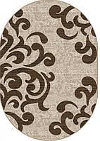 Ковер Karat Cappuccino 16028/118 (1,6x2,3м) овал