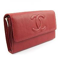 Клатч кожаный женский бордовый 1137, фото 1