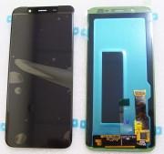Дисплей Samsung J6 Galaxy J600 2018 Чорний Black GH97-21931A, оригінал