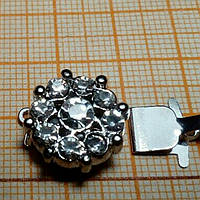 Фурнитура для бижутерии, застежка 14*21 мм
