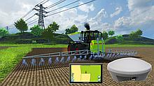 Система паралельного водіння AGRICOURSE PD + антена 10 Hz