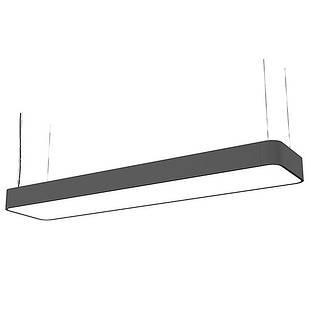 Підвісний світильник Soft LED Graphite 90X20 zwis 9542 Nowodvorski