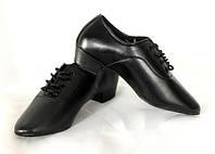 Туфли латина мужские кожа