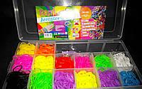 Набор резиночек Rainbow Loom bands 1800 шт. Оригинал!, фото 1