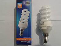 Энергосберегающая лампа Feron ELT19 спираль Т2 11W E14 2700K