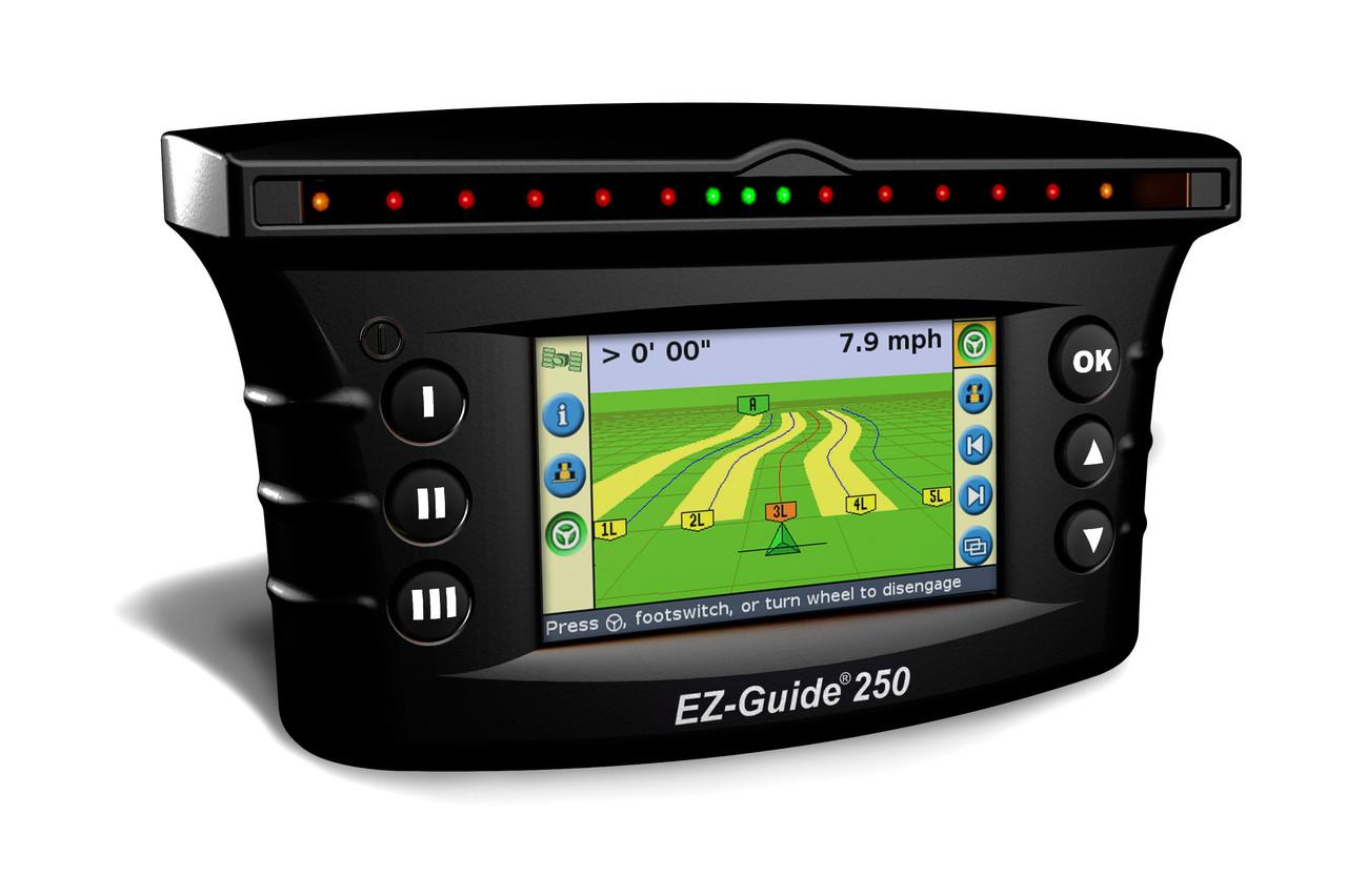 Система параллельного вождения TrimbleEZ-Guide 250.