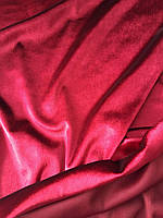 Велюр Бордовый, фото 1