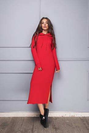Платье женское с капюшоном , фото 2