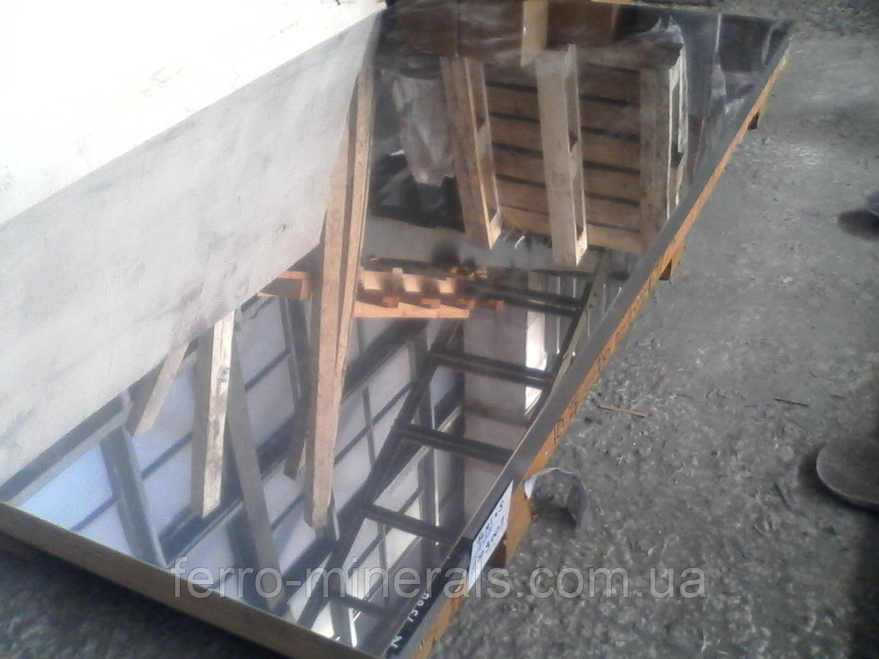 Нержавеющий лист 0,8х1000х2000мм,  AISI 430 (12X17), 2В+РI
