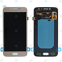 Дисплей Samsung J250 Galaxy J2 2018 з сенсором Золотий Gold оригінал , GH97-21339D