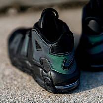 """Кроссовки Nike Air More Uptempo Iridescent Reflective """"Black"""" (Черные), фото 3"""
