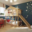 Двухэтажная кровать-чердак, фото 3