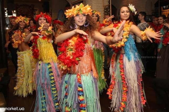 Гавайские наряды