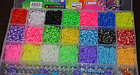 Резиночки для плетения браслетов Rainbow Loom bands 5200 шт. Оригинал!