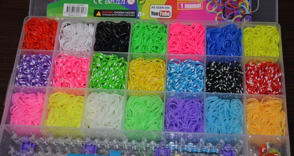 """Резиночки для плетения браслетов Rainbow Loom bands 5200 шт. Оригинал! - Интернет магазин """"Navigator"""" в Одессе"""