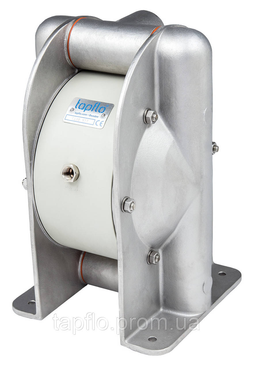 Нержавеющая сталь, мембранный насос TAPFLO - T 120 STT (Швеция)