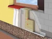 Полная комплектация материалов для утепления фасадов