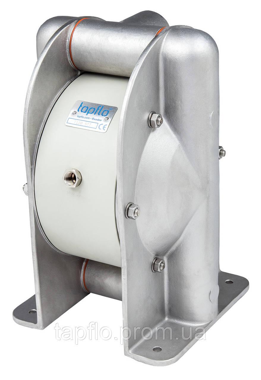 Нержавеющая сталь, мембранный насос TAPFLO - T 420 STT (Швеция)