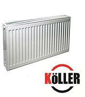 Стальной радиатор 22к 500*400 Koller  боковое подключение