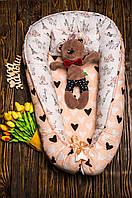 Кокон, позиционер, гнездо в коляску / кроватку для новорожденного ребенка