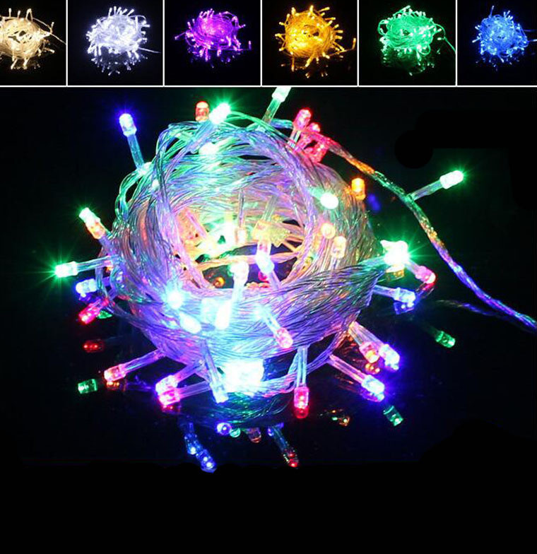 Гирлянда Xmas LED 100-90 M-1 Мультицветная RGB COLOR