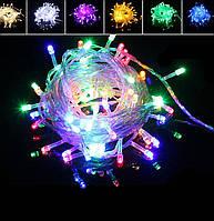 Гирлянда Xmas LED 100-90 M-1 Мультицветная RGB COLOR , фото 1
