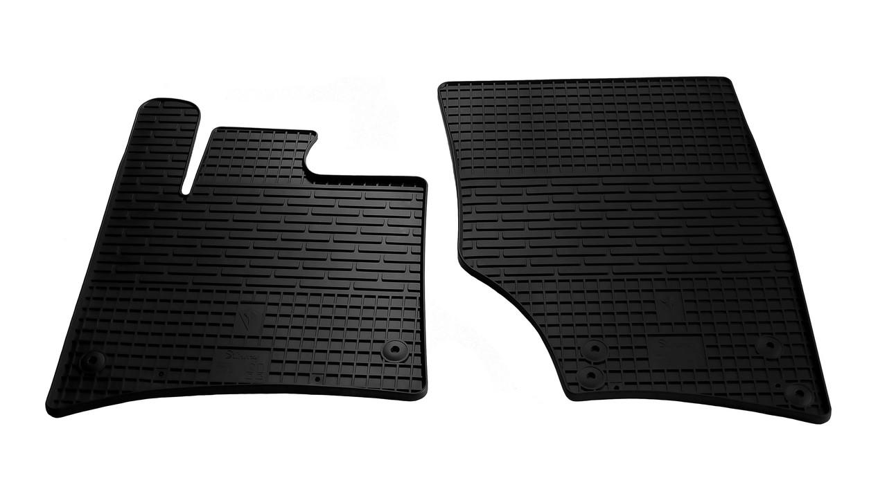 Коврики в салон резиновые передние для Audi Q7 2005-2015 Stingray (2шт)