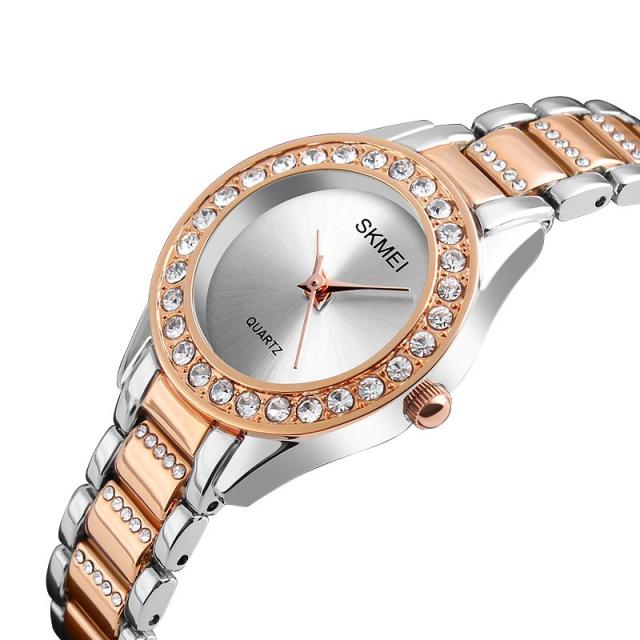 Классические женские часы SKMEI CLASSIC 1262 ROSE GOLD