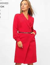 Женское платье-пиджак на запах (3301 lp), фото 2