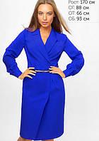 Женское платье-пиджак на запах (3301 lp)