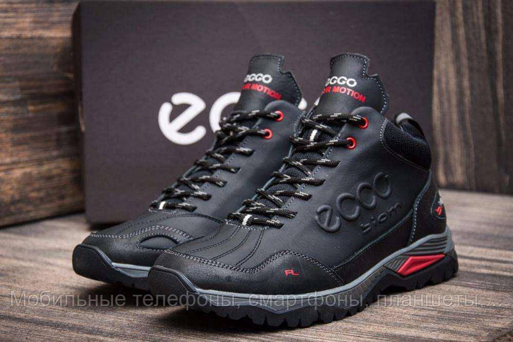 c931a957e ... Зимние мужские ботинки экко Ecco Biom на меху черные 40 41 42 43 44 45,  ...