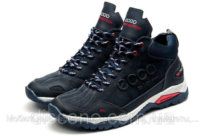 f2e2bb67b Зимние мужские ботинки экко Ecco Biom на меху черные 40 41 42 43 44 ...