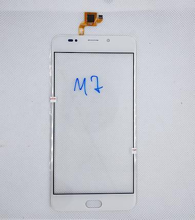 Cенсорный экран Leagoo M7 WHITE, фото 2