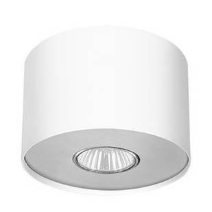 Накладний настельний світильник Point white silver/white graphite S 6000 Nowodvorski