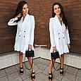 Платье-пиджак со складками , фото 4