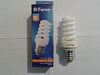 Энергосберегающая лампа Feron ELT19 спираль Т2 15W E27  2700К
