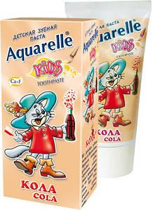 Зубна паста дитяча Кола 50мл Aquarelle Kids