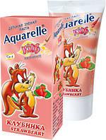 Зубна паста дитяча Полуниця 50мл Aquarelle Kids