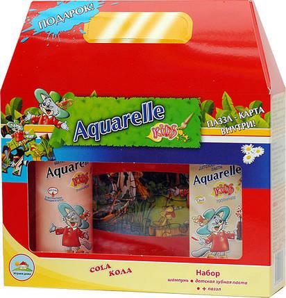 Подарунковий набір дитячий кола + пазли Aquarelle kids , фото 2