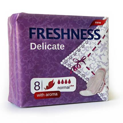 Прокладки Freshness Delicate Normal SOFT 0715 (8шт.в уп.), фото 2