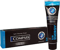 Крем для бритья  Compass black ICE ENERGY 65г /24