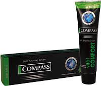 Крем для бритья  Compass black VITAL COMFORT 65г /24