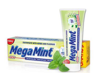 Зубна паста Mega mint Herbal 50ml