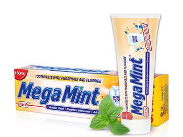 Зубна паста Mega mint Anti-plaque 50ml