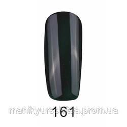 Гель-лак FOX № 161 (очень темно-зеленый, бутылочный, эмаль), 12мл