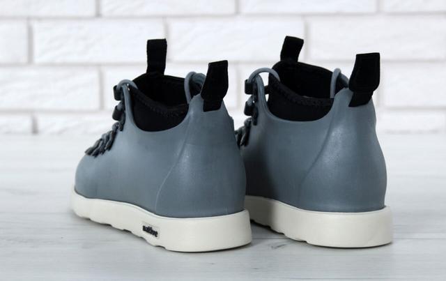 Ботинки Native Fitzsimmons серого цвета картинка