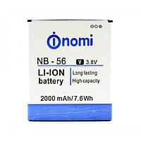 Аккумулятор  NB-56 к Nomi  I503 2000mAh